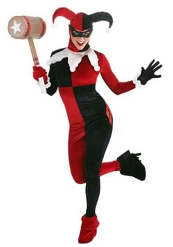 Women's Deluxe Harley Quinn Costume