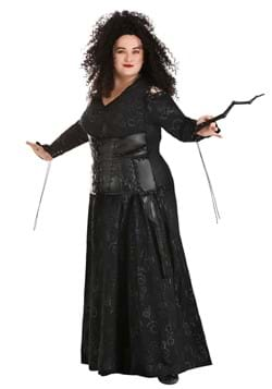 Deluxe Harry Potter Bellatrix Plus Size Costume for Women