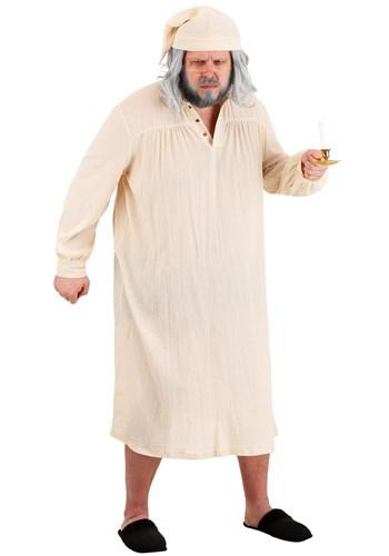 Plus Size Men's Humbug Nightgown Costume