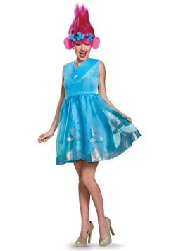 Trolls Womens Poppy Deluxe Costume