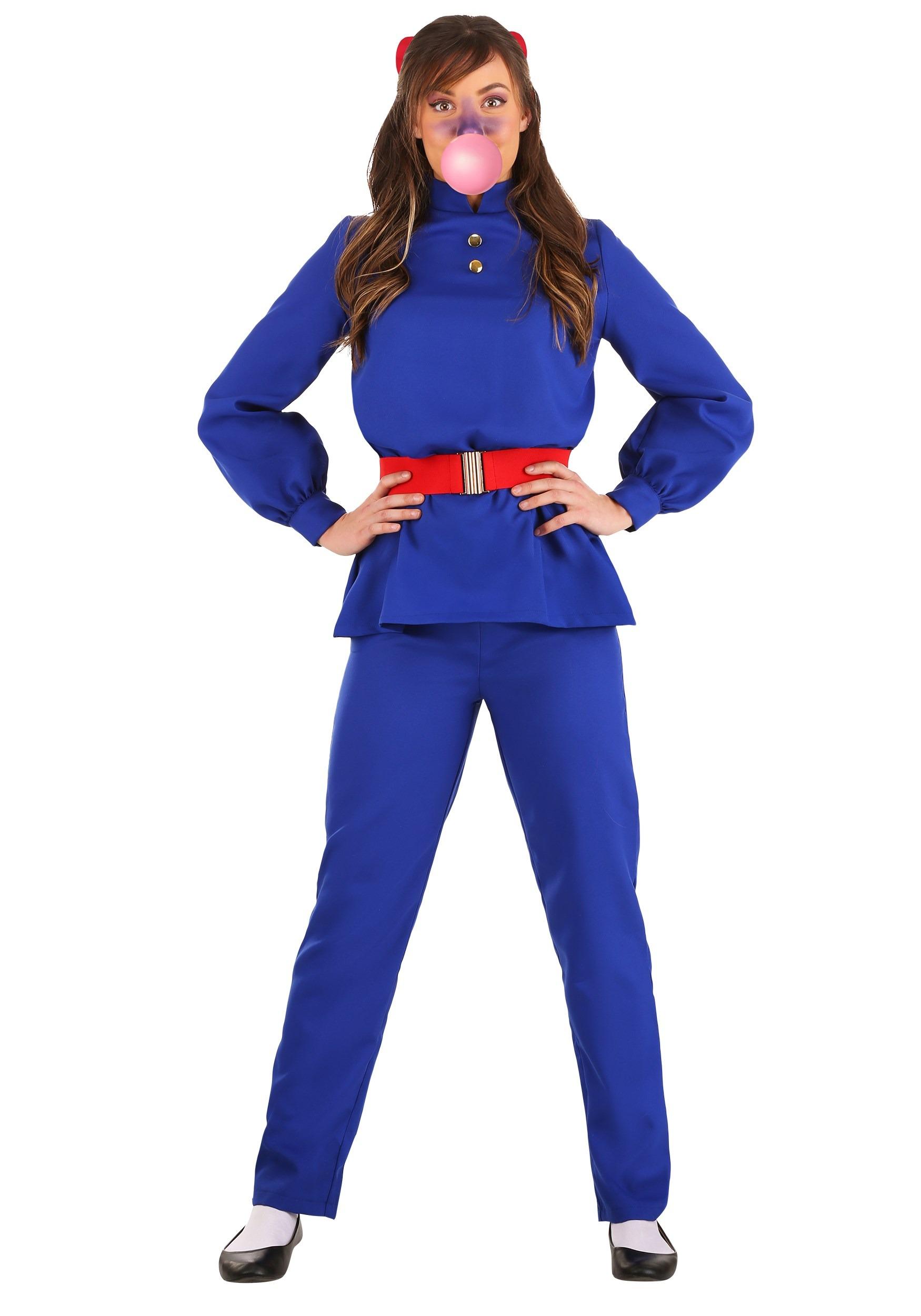 Willy Wonka Violet Beauregarde Women S Costume