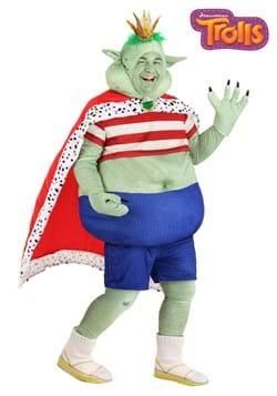 Plus Size Prince Gristle Trolls Costume