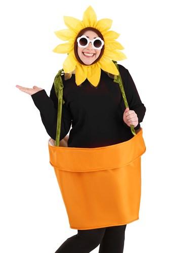 Plus Size Adult Flower Pot Costume