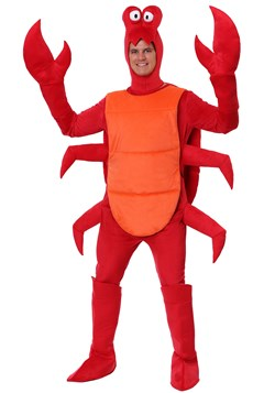 Men's Plus Size Crab Costume1