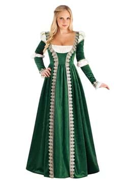 Women's Emerald Maiden Costume