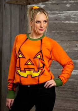 Adult Pumpkin Halloween Sweater