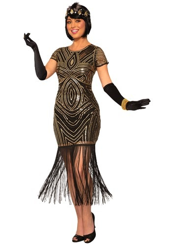 Women's Art Deco Flapper Dress Costume