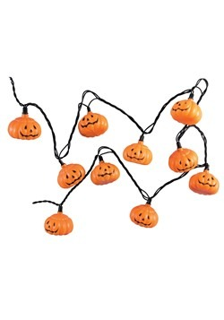 10 pc Pumpkin Light Set