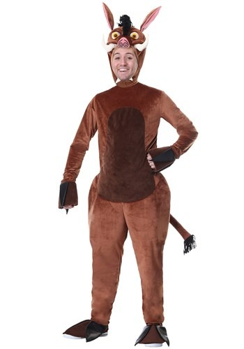 Adult Plus Size Warthog Costume