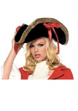 Ladies Pirate Hat