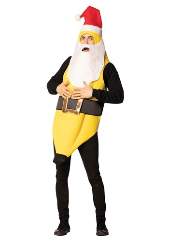 Adult Santa Banana Costume