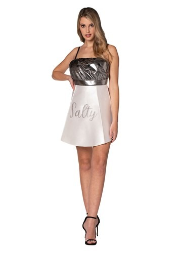 Adult Salty Salt Shaker Dress Costume