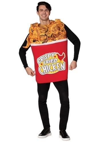 Adult Bucket of Fried Chicken Costume