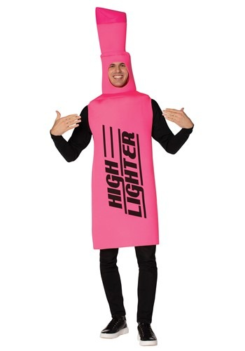 Adult Pink Highlighter Costume