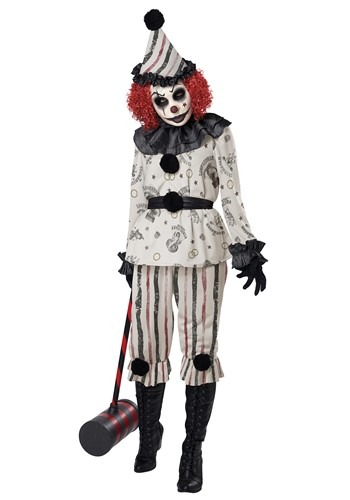 Adult Creeper Clown Costume