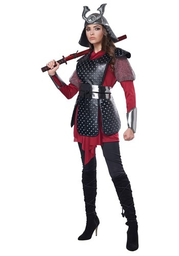 Samurai Warrior Costume for Women
