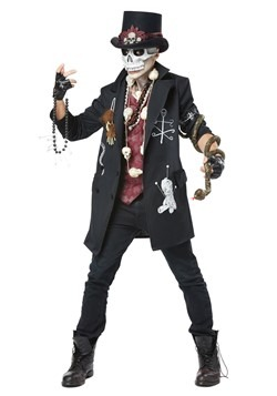 Men's Plus Size Voodoo Dude Costume