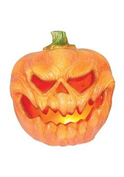 Light Up Creepy Pumpkin Decoration