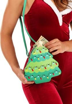 Christmas Tree Crossbody Purse