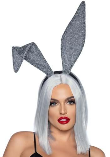 Glittery Bunny Ear Headband