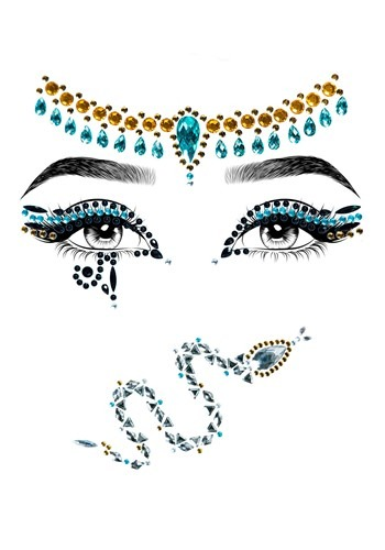 Cleopatra Adhesive Face Jewel Kit
