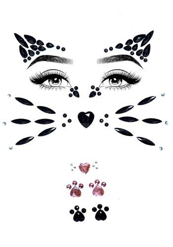 Animal Adhesive Face Jewel Kit