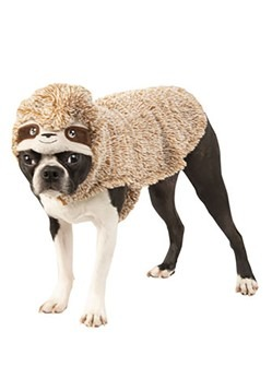 Lazy Sloth Dog Costume