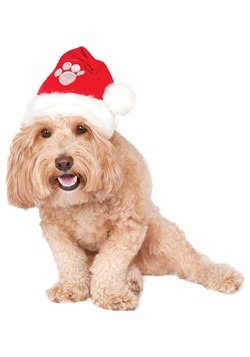 Santa Hat Dog Costume Accessory