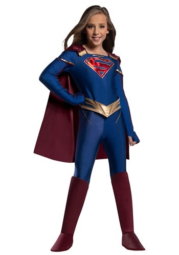 Supergirl Jumpsuit Child Costume