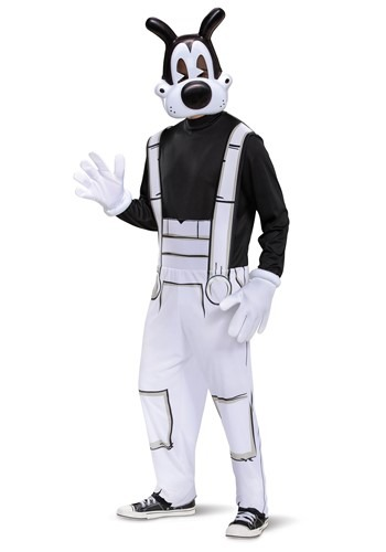 Adult Bendy & The Ink Machine Boris Costume