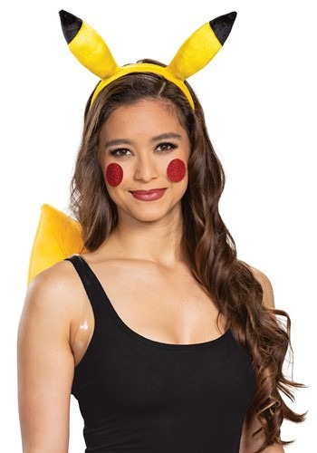 Pokemon Pikachu Headband & Tail Kit