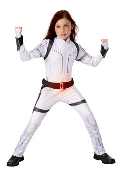 Black Widow Child Deluxe White Suit