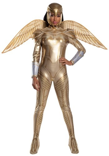 Wonder Woman Gold Armor Deluxe Womens Costume