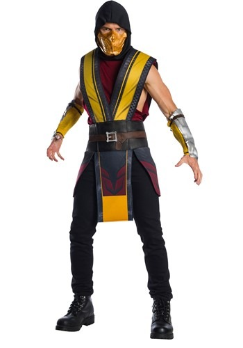 Mortal Kombat 11 Scorpion Adult Costume