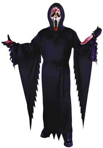 Adult Bleeding Ghost Face Costume