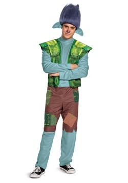 Trolls World Tour Men's Branch Costume