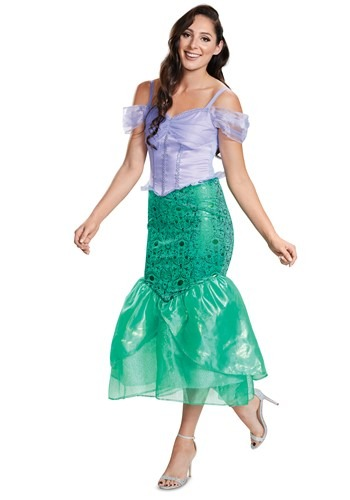 The Little Mermaid Adult Deluxe Ariel Costume