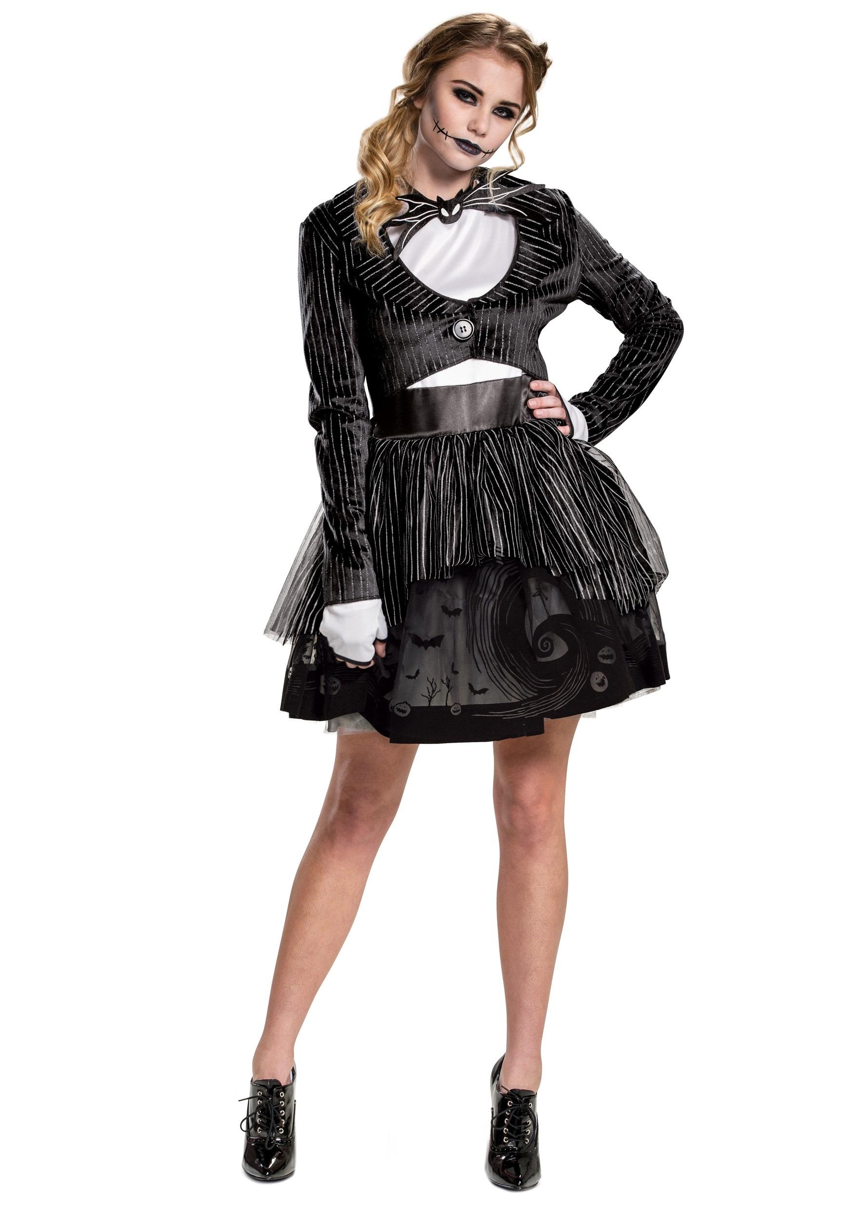 Nightmare Before Christmas Womens Jack Skellington Dress ...