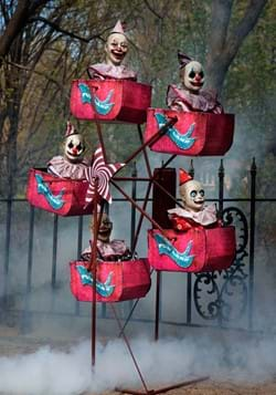 Animatronic Evil Clown Ferris Wheel