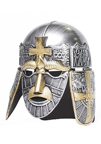 Adult Silver Crusader Helmet