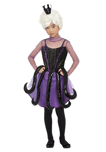 Girl's Sea Witch Costume