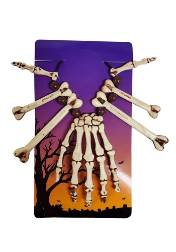 Voodoo Skeleton Hand Necklace 1