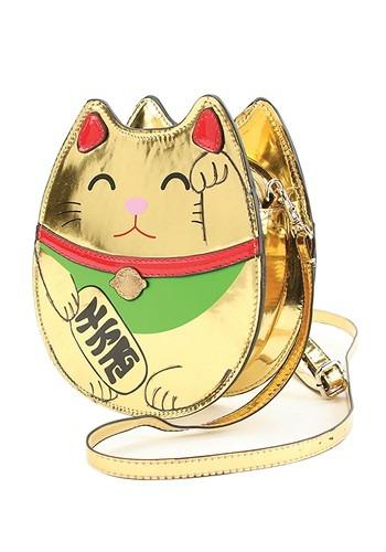 Gold Lucky Cat Handbag