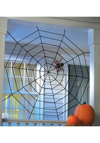 5' Black Widow Rope Web
