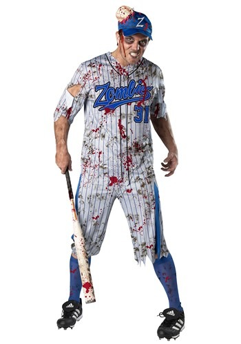 Men's Home run Horror Costume