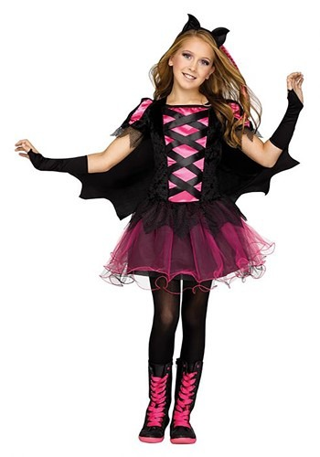 Girl's Bat Queen Costume