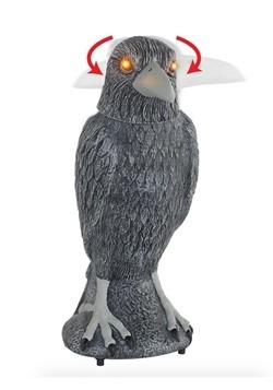 Animated Spooky Raven Décor