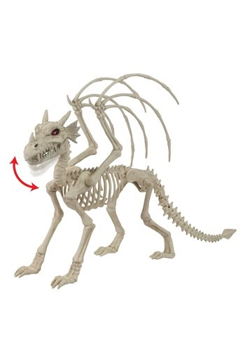 Majestic Dragon Animated Skeleton