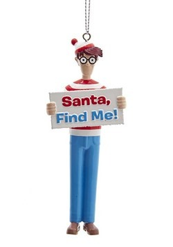 Where's Waldo Blow Molded Ornament Main