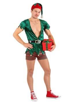 Men's Sexy Christmas Elf Costume